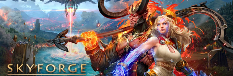 2015 sci-fantasy MMORPG Skyforge is launching on the Nintendo Switch this fall