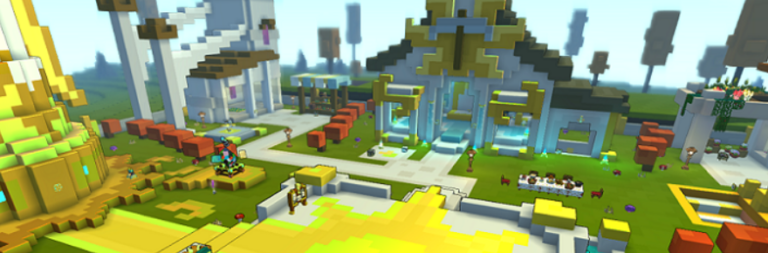 Trove begins testing a 'hubdate' that reworks the game's main hub on PC