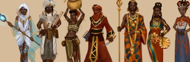 Wagadu Chronicles reaches Ikaki people and live musician stretch goals, showcases main theme