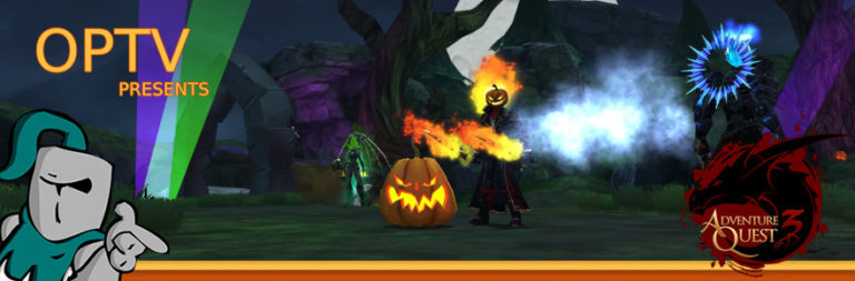 The Stream Team: Another AdventureQuest 3D Mogloween dance party