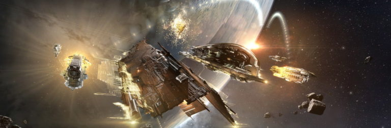 That's no moon, it's EVE Online's gigantic supercarriers!