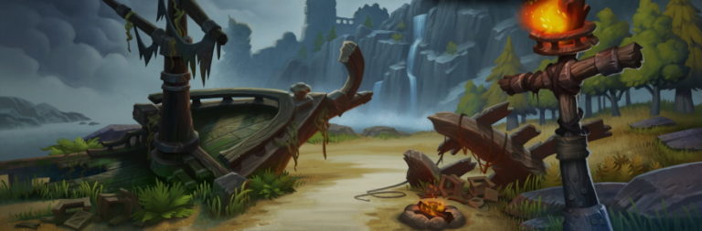 Taking a look at World of Warcraft's new starter experience, Exile's Reach