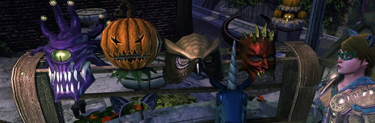 Neverwinter kicks off its Halloween festivities with the Masquerade of Liars starting October 22