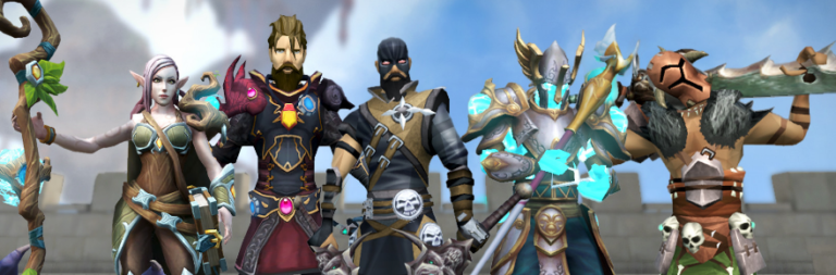 RuneScape will give away goodies in anticipation of its Steam launch and additional action bars