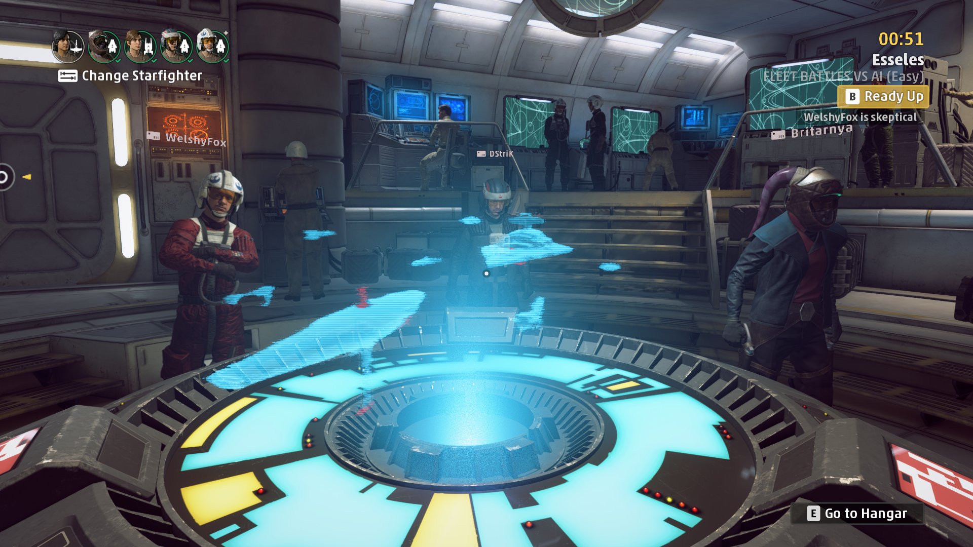 star wars squadrons ready room