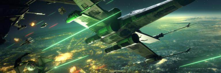 Star Wars Squadrons comparte la primera semana de infografía de estadísticas de juegos en línea
