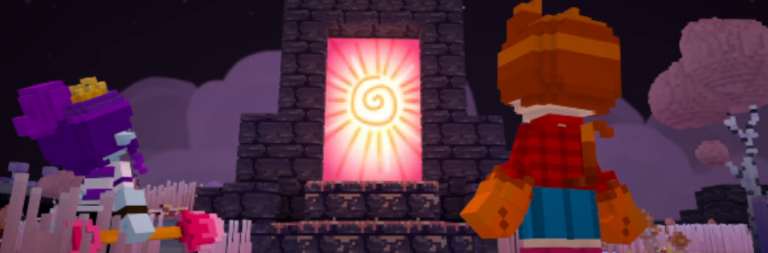 Voxelbox Staxel introduces a new area, new quests, and new items with the Hideaway Hollow update