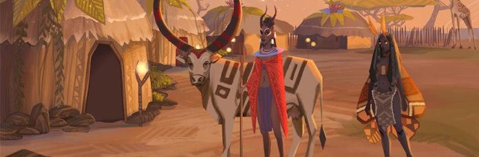 Gazelle upon my works, ye mighty