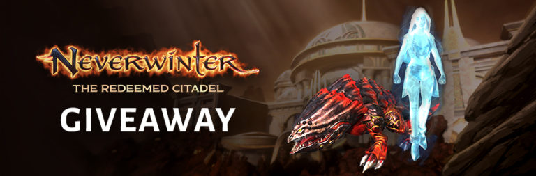 Enter to win a Neverwinter Carmine Bulette mount and ghost friendo for PC