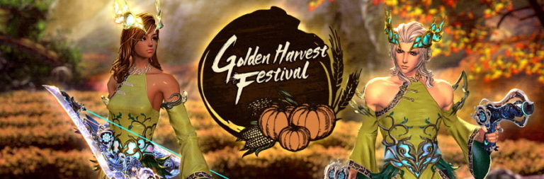 Blade and Soul celebrates the Thanksgiving season with the Golden Harvest Festival