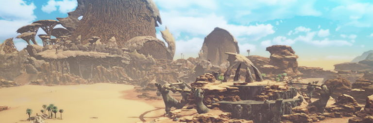 Blue Protocol shares a couple of sneak peeks at a new region as players share CBT gameplay footage