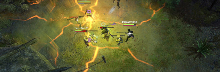 Fractured's fall alpha has testers knee-deep in player cities, farming, and mounts