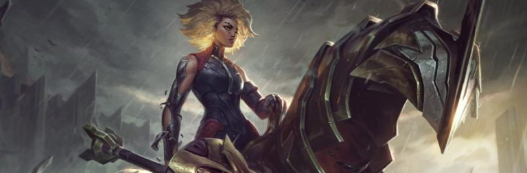 League of Legends takes a closer look at its upcoming roster addition Rell the Iron Maiden