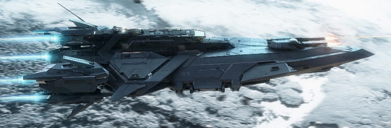 Star Citizen debuts new $600 gunship at this year's Intergalactic Aerospace Expo