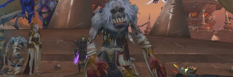 World of Warcraft's pre-patch Scourge event is being used to kill freshly made characters