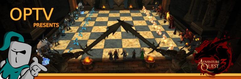 The Stream Team: AdventureQuest 3D's brand-new Battleon chess