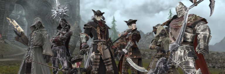 Final Fantasy XIV updates its site for patch 5.4 with more details on gear, side activities, and rewards