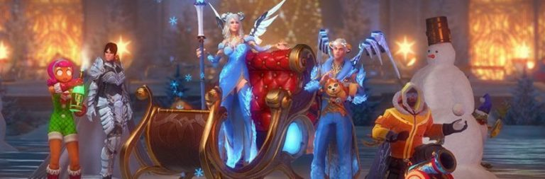 Skyforge's newest holiday event explores the true meaning of winter