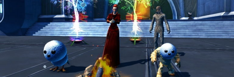 Star Wars: The Old Republic celebrates Life Day with snowball throwing and Wookiee hugging