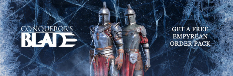 Grab a Conqueror's Blade Empyrean armor bundle key from My.Games and MOP